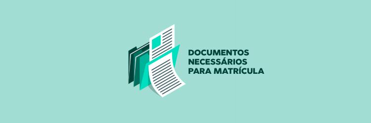 Banner do Card Documentos Necessários para a Matrícula