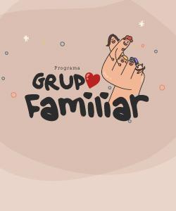 Imagem da parte frontal do Card de Desconto Grupo Familiar