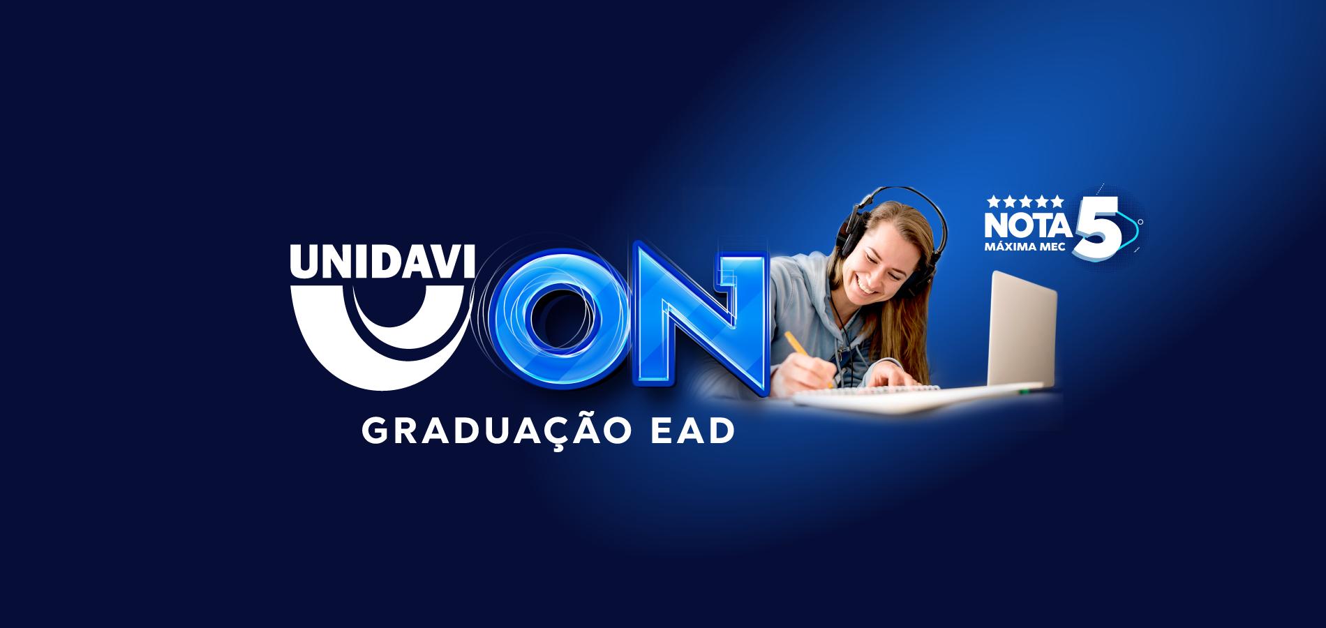 Imagem 1 - Banner Unidavi On